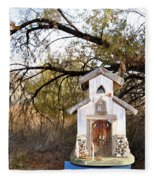 The Birdhouse Kingdom - Wilson's Warbler Fleece Blanket