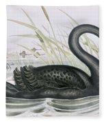 The Black Swan Fleece Blanket