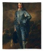 The Blue Boy, C.1770 Fleece Blanket