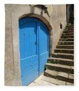 The Blue Door Fleece Blanket