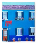 The Blue House Burano Fleece Blanket