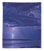 The Blues Fleece Blanket