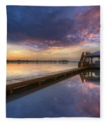 The Boathouse Fleece Blanket