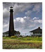 The Bolivar Lighthouse Fleece Blanket