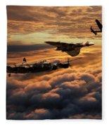 The Bomber Age  Fleece Blanket