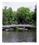 The Bow Bridge Fleece Blanket