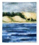 The Bowl - Dunes Study Fleece Blanket