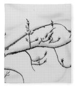The Branch Of Art Fleece Blanket