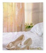 The Brides Sandals Fleece Blanket