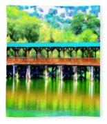The Bridge 16 Fleece Blanket