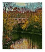 The Bridge Between Heaven And Earth Fleece Blanket