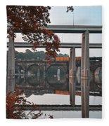 The Bridges At East Falls Fleece Blanket