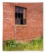 The Broken Window Fleece Blanket