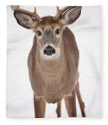 The Buck Stops Here Fleece Blanket