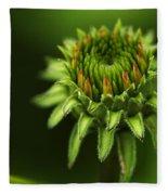 The Bud Is Prettier Than The Bloom Fleece Blanket
