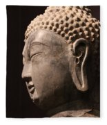 The Buddha 2 Fleece Blanket
