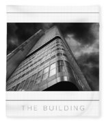 The Building Poster Fleece Blanket