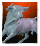 The Bull... Fleece Blanket