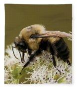 The Bumble Bee.. Fleece Blanket