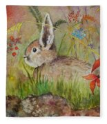 The Bunny Fleece Blanket