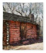 The Cabin Fleece Blanket