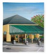 The Cafe Fleece Blanket