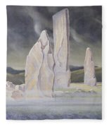 The Callanish Legend Isle Of Lewis Fleece Blanket