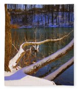 The Calm After The Storm Fleece Blanket