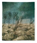 The Calm In The Storm II Fleece Blanket