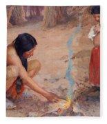 The Campfire Fleece Blanket