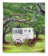 The Candy Cart Fleece Blanket