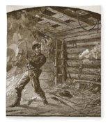 The Capture Of Booth, The Slayer Fleece Blanket