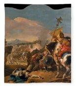 The Capture Of Carthage Fleece Blanket