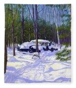 The Car Fleece Blanket