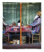 The Card Players Victor Colorado Img 8665 Fleece Blanket