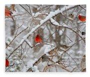 The Cardinal Rules Fleece Blanket