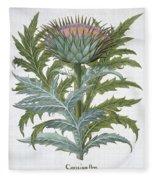 The Cardoon, From The Hortus Fleece Blanket
