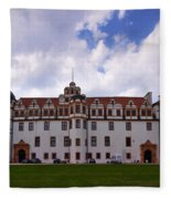 The Castle Of Celle Fleece Blanket
