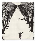 The Cat That Walked By Himself Fleece Blanket