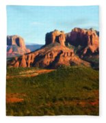 The Cathedral Complex Fleece Blanket