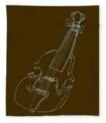 The Cello Fleece Blanket