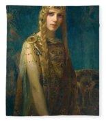 The Celtic Princess Fleece Blanket