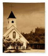 The Chapel At The Supes  Fleece Blanket