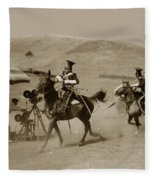 The Charge Of The Light Brigade 1936 Fleece Blanket