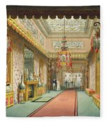 The Chinese Gallery, From Views Fleece Blanket