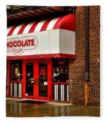 The Chocolate Factory Fleece Blanket