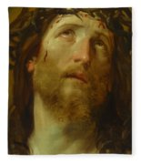 The Chosen One -  The Son Of God Who Died On The Cross For Your Sins Fleece Blanket