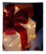 The Christmas Gift Fleece Blanket