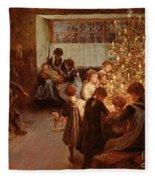 The Christmas Tree Fleece Blanket