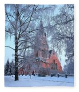 The Church Of Kemi Fleece Blanket